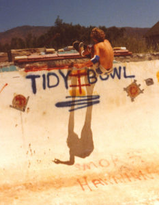 Mike Neal Tidy Bowl 1978. (photo by Mitch York)