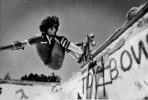 Mike Fortin at the Tidy Bowl 1977