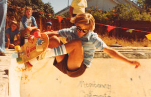 Ian Smith at the Tidy Bowl 1978. (photo by Eric Straubhar)