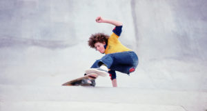 Bob Harper Americana Skate Park 1977. (photo by Mitch York)